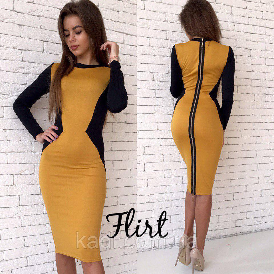c34cb0501840 Женское облегающее платье - Titova- магазин женской одежды. Showroom  ТЦ