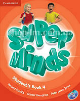 Super Minds 4 Student's Book with DVD-ROM / Учебник