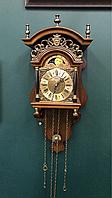 Антикварные часы с фазой луны, фото 1