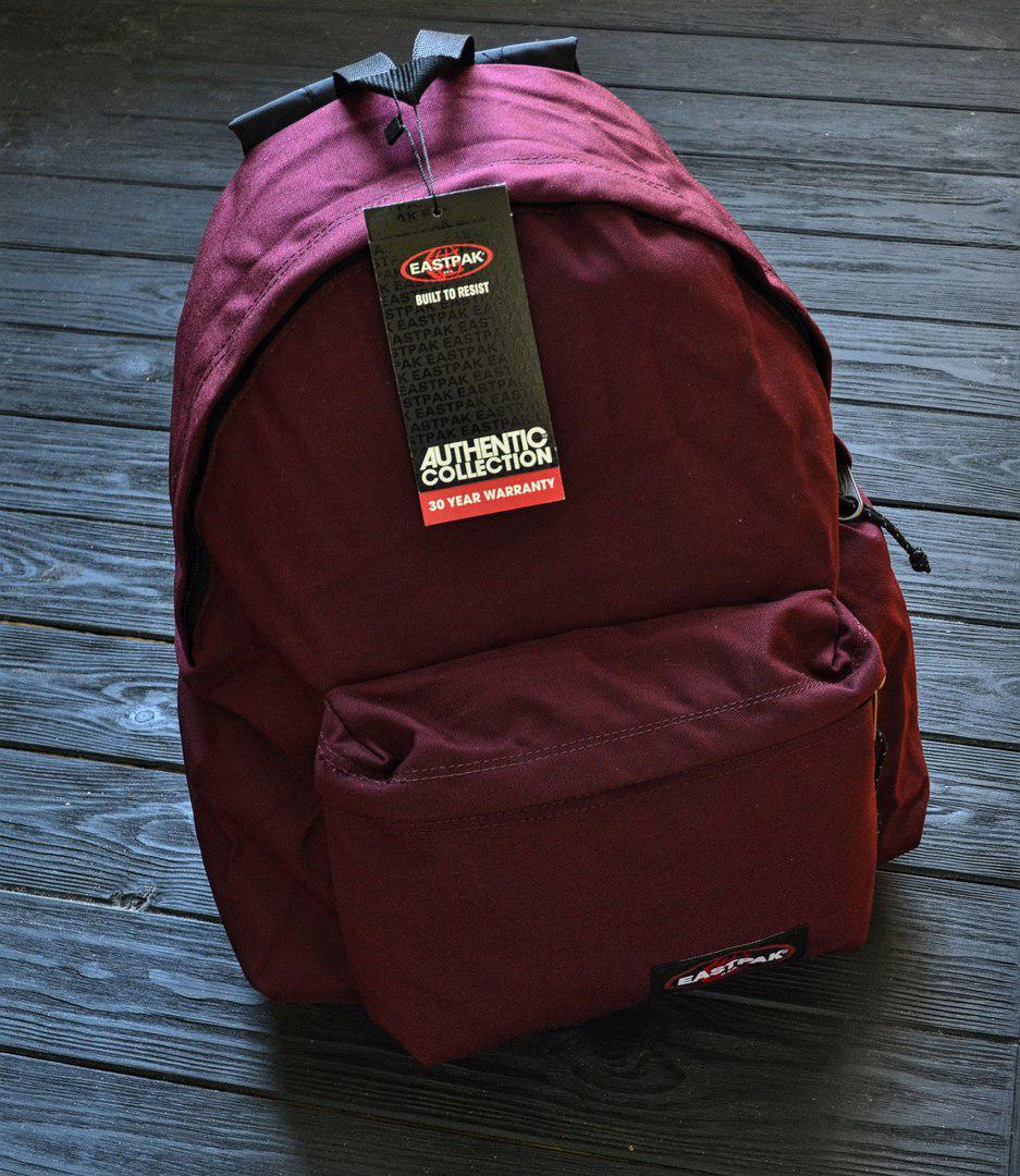 Рюкзак в стиле Eastpak бордо