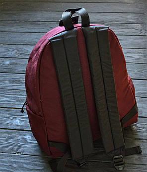 Рюкзак в стиле Eastpak бордо, фото 2