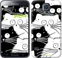 "Чехол на Samsung Galaxy S5 g900h Коты v2 ""3565c-24-1852"""