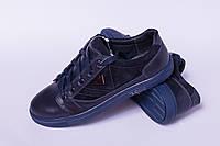 Кожаные кеды подростковые, детская обувь от производителя модель ДЖ7006