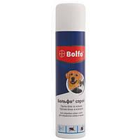 Спрей Bayer Bolfo от блох и клещей для кошек и собак 250 мл