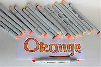 Маркер SKETCHMARKER Тонкий-Скошенный наконечник Orange
