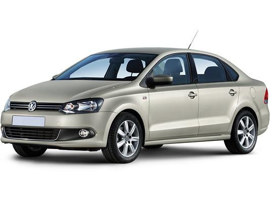 Лобовое стекло Volkswagen Polo седан с молдингом (2009-)