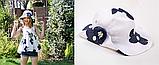 Шляпа в цветочек р-ры 2-6 лет, 7-11 лет, фото 2