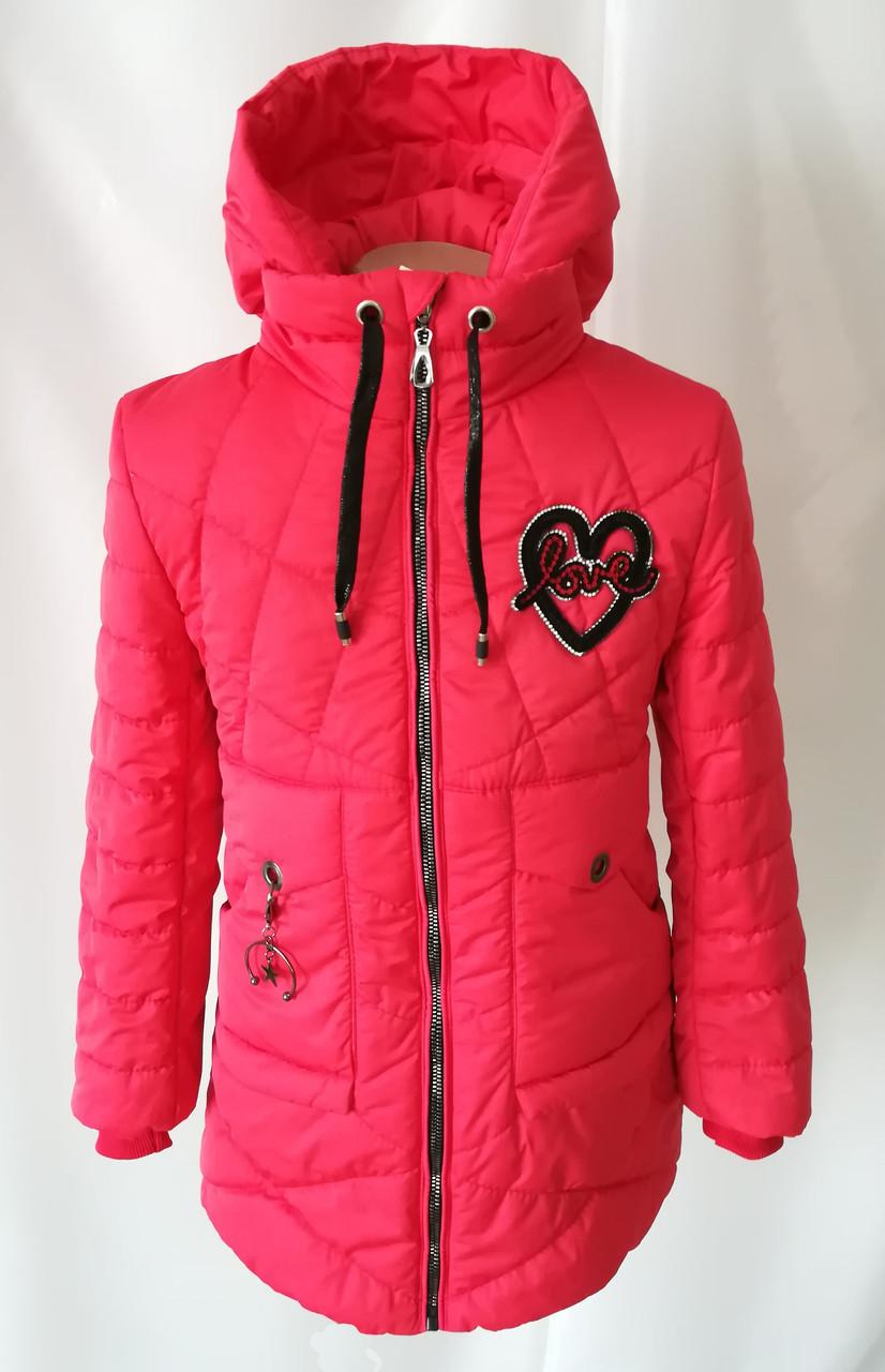 Демисезонная куртка парка для девочки подростка 32-40р