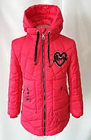 Демисезонная куртка парка для девочки подростка 32-40р, фото 1