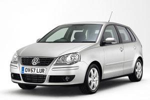 Лобовое стекло Volkswagen Polo с молдингом (2001-2009)