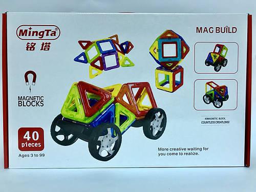 Магнитный конструктор Mag Building (40 деталей)