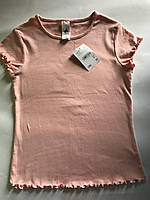 Розовая футболка Германия C&A Palomino 140см., фото 1