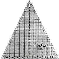 Линейка-треугольник 23x20 см. Sew Mate - Quiting ruler MT6020-BK