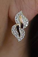 Серебряные серьги, фото 1