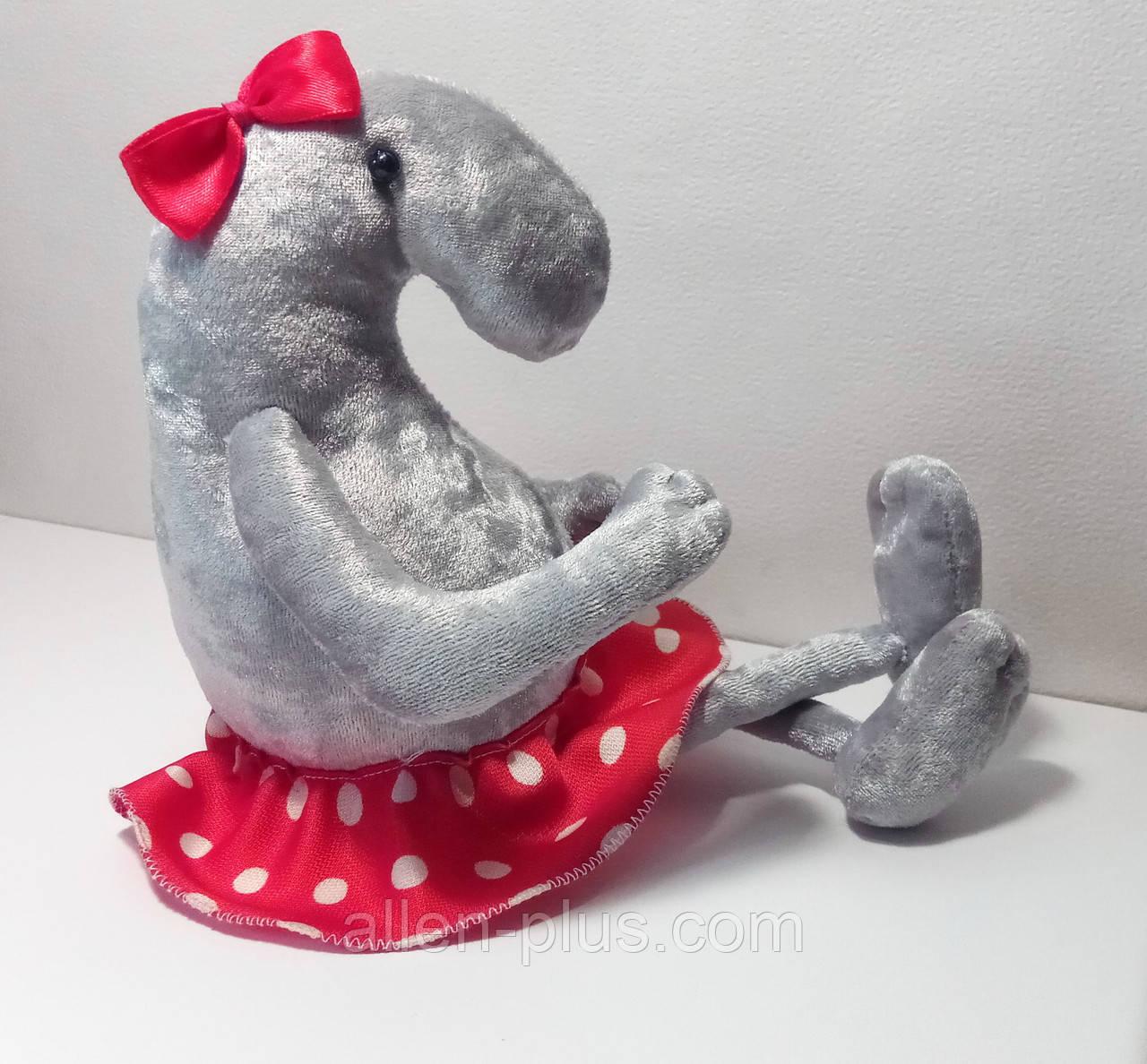 Мягкая игрушка ручной работы Ждун маленький - Девочка с ножками