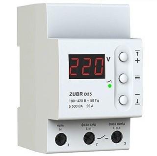 Реле напряжения ZUBR D63t