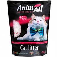 Наполнитель для туалета кошки AnimАll Розовый лепесток 3,8 л