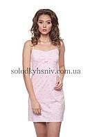 Жіноча сорочка ELLEN Рожеві Метелики 148/001