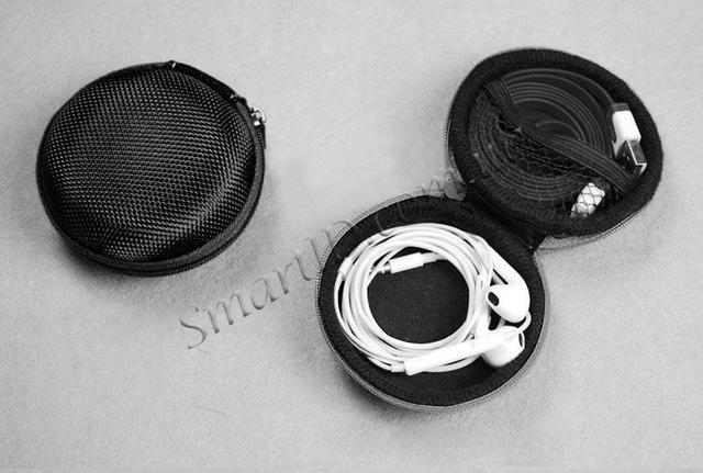 Кофр для хранения наушников, кабелей и карт памяти Сapshi