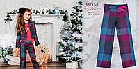 Яркие брюки для девочки ТМ МОНЕ р-р 116