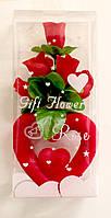 Сердце с розами - 20 см