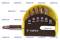 Набор бит с удлинителем Topex - 7 шт. (PH)