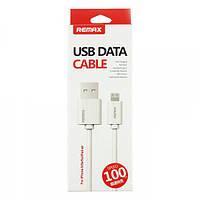USB кабель Remax Classic Lightning, 1m white