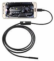 Электронный эндоскоп 7mm длина 1,5м для смартфона Android, фото 1