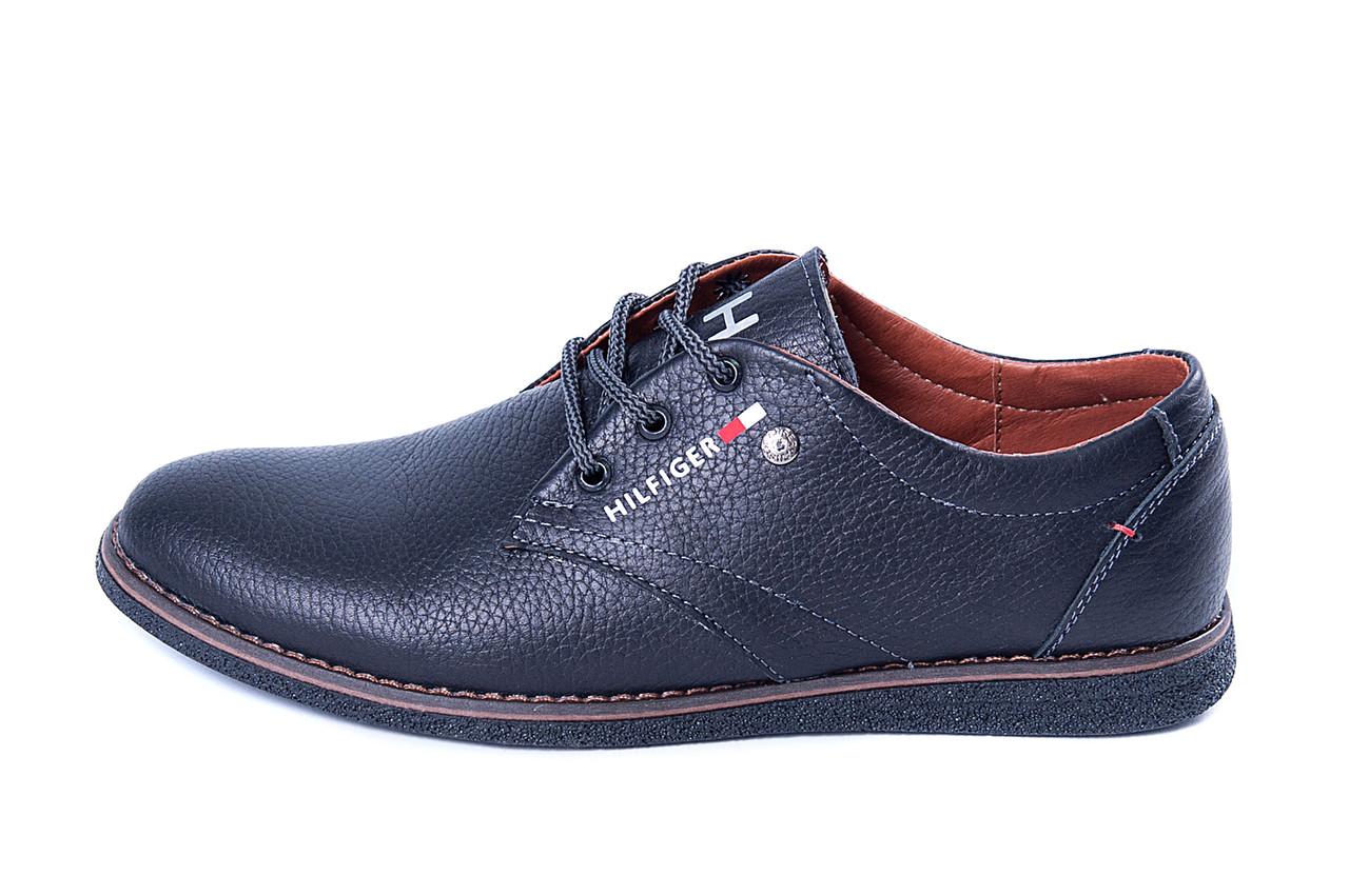 Мужские кожаные туфли  Tommy  Spring Line