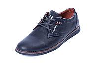 Мужские кожаные туфли  Tommy  Spring Line, фото 1