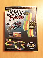 Magic Track с машинкой в наборе, 220 деталей, длина 3 метра, фото 1