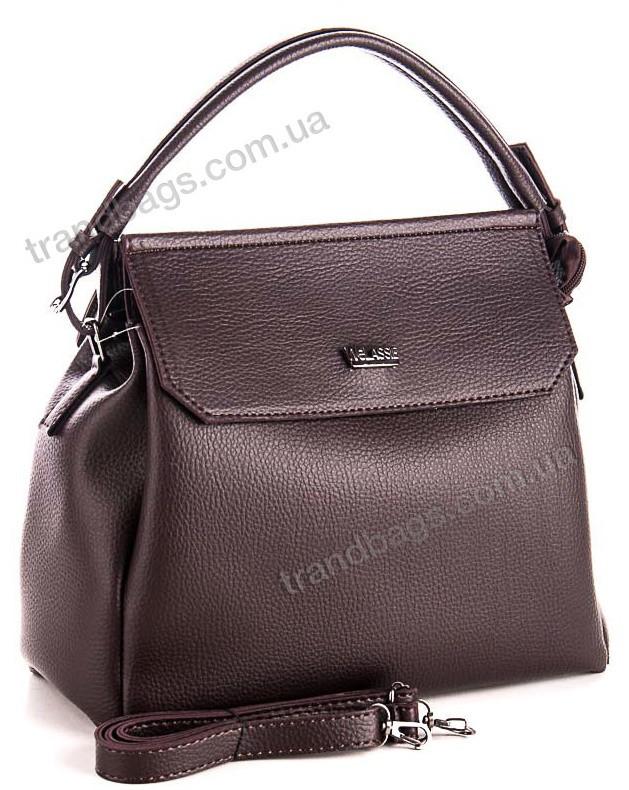 37163db3a139 Женская сумка WeLassie 54025 коричневый женские сумки оптом и в розницу в Одессе  км