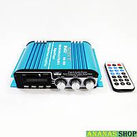 Автомобильный 4-х канальный усилитель звука Sony MA-500 - USB, SD-карта