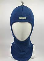 Детская весення шапка-шлем для мальчика Dino 1715-12