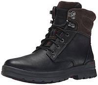 Ботинки мужские зимние Clarks ryerson rise black warmlined