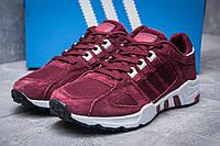 Кроссовки мужские Adidas EQT Support 93, бордовые (11652), р. 41-45