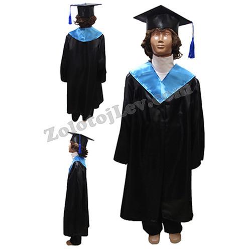 Дитяча мантія випускника зростання 128