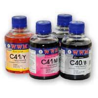 Чернила WWM CANON CL41/51/CLI8/BCI-16, cyan (C41/C)