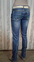 Женские джинсы AMN сзади с молнией