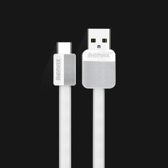 USB кабель Remax Platinum RC-044a Type-C to USB, 1m white
