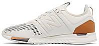Мужские кроссовки New Balance 247 White Нью Баланс белые