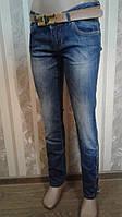 Женские джинсы AMN с боку молния