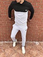 Мужскойспортивный костюм Серый с белым