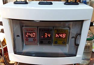 Автоматический инкубатор Курочка Ряба в пластиковом корпусе, фото 3