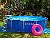 Каркасный бассейн Intex 28200, диаметр 305см. Бассейны во двор, бассейны наливные интекс