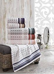 Махровое полотенце 50*90 Saheser Турция