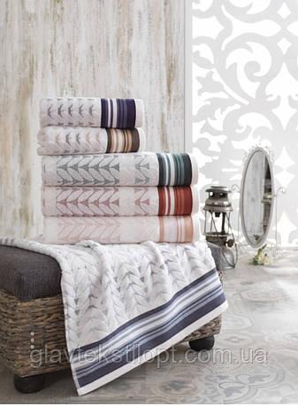 Махровое полотенце 50*90 Saheser Турция, фото 2