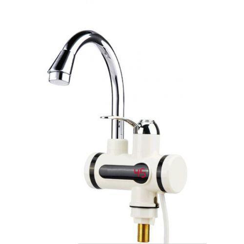 Проточний водонагрівач електричний на кран LCD бойлер з душем