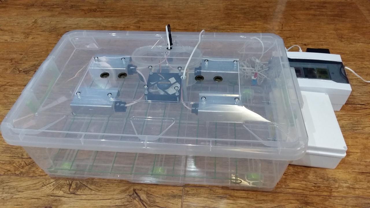 Автоматический инкубатор Курочка Ряба в пластиковом корпусе