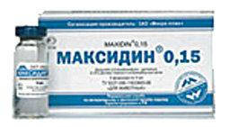 Максидин глазной- ммуностим прот/кон,0,15% 5мл